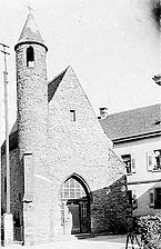 historische Aufnahme nach 1920 / St. Nikolauskapelle, Klauskirchl  in Achern
