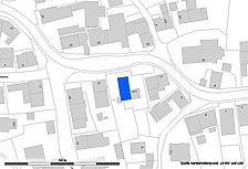 Lageplan (Vorlage LV BW und RPS-LAD) / ehemaliges Eindach-Bauernhaus in 72336 Balingen-Ostdorf
