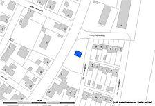 Lageplan (Vorlage LV-BW und RPS LAD) / Siechenkapelle in 72336 Balingen