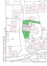 Lageplan / ehemaliges Vogtshaus in 78176 Blumberg
