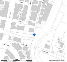 Lageplan (Vorlage LV-BW und RPS-LAD) / Wasserturm am Zollernschloss in 72336 Balingen