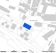Lageplan (Vorlage RPS-LAD und LV-BW) / Ehemalige Schlossmühle in 72574 Bad Urach
