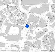 Lageplan (Vorlage LV-BW und RPS-LAD) / Ehem. Stiftshaus in 72574 Bad Urach