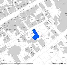 Lageplan (Vorlage LV-BW und RPS-LAD) / Stadtmauerreste in 89584 Ehingen, Ehingen (Donau)