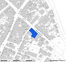Lageplan (vorlage RPS-LAD und LV-BW) / Wohnhäuser in 73728 Esslingen am Neckar