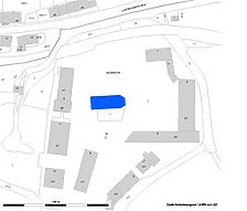 Lageplan (Vorlage LV-BW und RPS-LAD) / ehemalige Klosterkirche in 72532 Gommadingen-Offenhausen