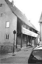Im Haag 28, Rückseite / Wohnhaus in 72401 Haigerloch (01.09.1998 - Michael Hermann)