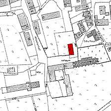 Ausschnitt Flurkarte 1962 / Herrenhaus in 73467 Kirchheim am Ries