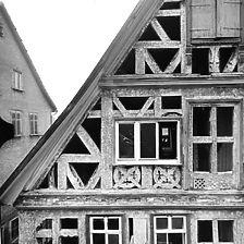 Ausschnitt Photogrammetrische Aufnahme, 1975 / Frühmesserhaus in 73207 Plochingen