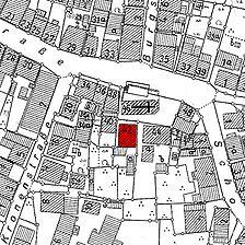 Ausschnitt Flurkarte 1954 (Vorlage LV-BW) / Frühmesserhaus in 73207 Plochingen