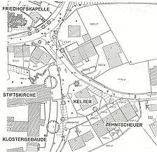 Lageplan / Farrenstall bzw. Alte Kelter in 73770 Denkendorf