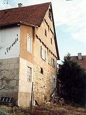 Ansicht des Südgiebels (um 1995) / Wohnhaus in 73770 Denkendorf