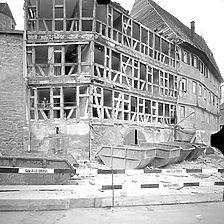 Ausschnitt photogrammetrische Aufnahme Ansicht von West, 1976 / Heilig-Geist-Spital in 71706 Markgröningen