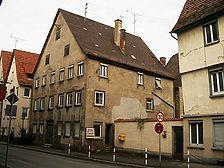 Ansicht von Süden. / Wohnhaus mit Bäckerei in 72108 Rottenburg am Neckar