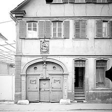 Ausschnitt photogrammetrische Aufnahme Ansicht Nord, 1976 / Wohnhaus in 97980 Bad Mergentheim