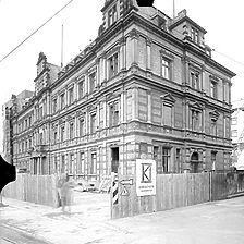Ausschnitt photogrammetrische Aufnahme Ansicht von Südwest, 1976 / Alte Post in 69115 Heidelberg, kein Eintrag