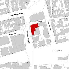 Flurkarte 2006 (LV-BW und LAD) / Alte Post in 69115 Heidelberg, kein Eintrag