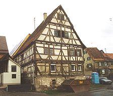 Ansicht von Südwesten / Wohnstallhaus in 72117 Ammerbuch - Breitenholz