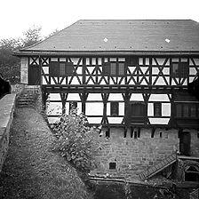 Ausschnitt photogrammetrische Aufnahme Ansicht Ost, 1976 / Wäscherschlössle in 73116 Wäschenbeuren, Wäscherhof