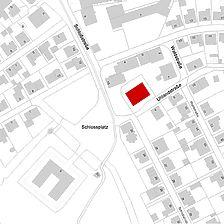 Flurkarte 2006 (LV-BW und LAD) Neubau anstelle der Zehntscheune / Zehntscheune in 72351 Geislingen