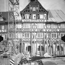 Photogrammetrische Aufnahme Ansicht West, 1976 / Palmsche Apotheke in 73614 Schorndorf