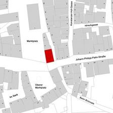Flurkarte 2006 (LV-BW und LAD) / Palmsche Apotheke in 73614 Schorndorf