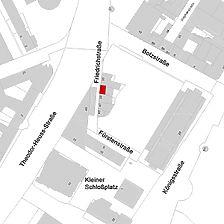 Flurkarte 2006 (LV-BW und LAD) / Gaststätte Drei Mohren in 70174 Stuttgart, Stuttgart-Mitte