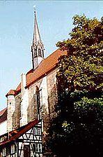 Ansicht des Chores von SO / Franziskanerkirche in 73728 Esslingen am Neckar