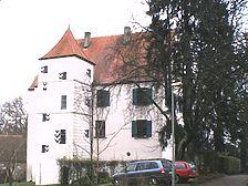 Ansicht von Norden / Schloss Obertalfingen in 89075 Ulm - Obertalfingen, Böfingen (05.12.2001 - Michael Hermann)