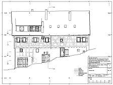 Ostfassade, Bauaufnahme GS2. / Kaserne in 72135 Dettenhausen