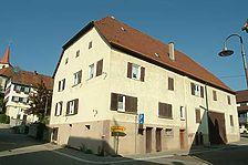 Zehntscheuer Weissach. Südostansicht vor dem Umbau zur Ortsbücherei, 2007. / Zehntscheuer in 71287 Weissach/Württ. (Michael Hermann)