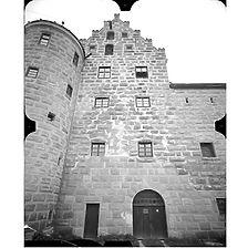 Photogrammetrische Aufnahme Ansicht Süd, 1977 / Burg Niederalfingen, Marienburg in 73460 Hüttlingen-Niederalfingen
