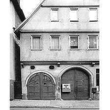 Ausschnitt photogrammetrische Aufnahme, Hauptstrasse 60, 1983 / Fassadenabwicklung in 74321 Bietigheim-Bissingen