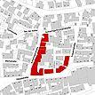Flurkarte 2006 (Vorlage LV-BW und LAD) / Fassadenabwicklung in 74321 Bietigheim-Bissingen