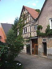 Knittlingen, Kirchplatz 10/1, Ansicht Süd / Fachwerkhaus in 75438 Knittlingen