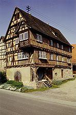 Bammental-Reilsheim, Alte Steigstraße 4, Ansicht von Norden / Fachwerkhaus in 69245 Bammental-Reilsheim