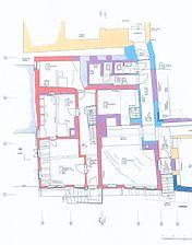 Buchen, Hofstraße 2, Bauphasenplan Erdgeschoss / Fachwerkhaus in 74722 Buchen, Buchen (Odenwald)