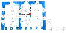 Bühl-Neusatz, ehem. Wasserschloß, Bauphasenplan Erdgeschoss / ehem. Wasserschloss in 77815 Bühl-Neusatz