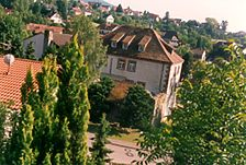 Bühl-Neusatz, ehem. Wasserschloß, Ansicht / ehem. Wasserschloss in 77815 Bühl-Neusatz