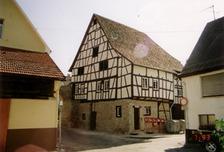 Ansicht des Gebäudes nach der Restaurierung (2007) / Ehem. Gerberhaus in 75015 Bretten (13.03.2007 - Lohrum)