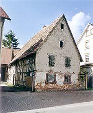 Fischerhaus, Ansicht von Osten,  Urheber: Säubert, Bernd F. (Architekturbüro Bernd F. Säubert) / Fischerhaus in 76706 Dettenheim-Rußheim