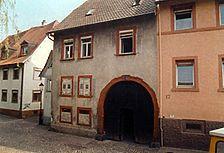 Ettlingen, Albstraße 15, Straßenansicht / Wohn- und Geschäftshaus in 76275 Ettlingen