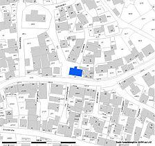 Lageplan (Vorlage RPS-LAD und LV BW) / Altes Schul- und Rathaus in 72119 Ammerbuch - Altingen