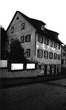 Engelsbrand, Schulstraße 14, Altes Rat- und Schuhlaus, Straßenansicht / Altes Rat- und Schulhaus in 75331 Engelsbrand