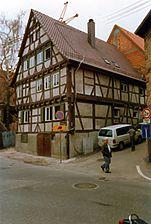 Eutingen (Pforzheim), Enzstraße 79, Ansicht Süd-Ost / Wohnhaus in 75181 Pforzheim, Eutingen