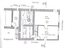Eisingen, Steiner Straße 5, Grundriss Erdgeschoss / Wohn- und Geschäftshaus in 75239 Eisingen