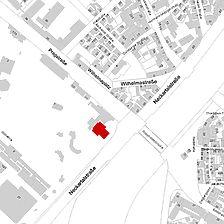 Flurkarte 2006 (Vorlage LV-BW und LAD) / Wilhelmatheater in 70376 Stuttgart, Bad Cannstatt