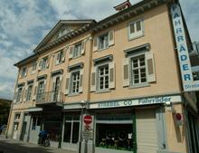 Wohn- und Geschäftshaus Zirkel 32, Karlsruhe. Südansicht / Wohn- und Geschäftshaus  in 76113 Karlsruhe, Innenstadt-West (15.09.2004 - Michael Hermann)