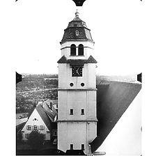 Photogrammetrische Aufnahme Ausschnitt Ansicht Nord, 1977 / Christuskirche in 75172 Pforzheim-Brötzingen