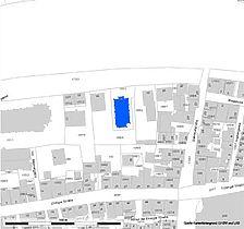 Lageplan (Vorlage LV-BW und RPS-LAD) / Ev. Stadtkirche in 72108 Rottenburg am Neckar